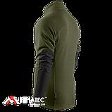 Кофта флисовая Camo-Tec Heron Jacket, Olive/Black, фото 3