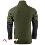 Кофта флисовая Camo-Tec Heron Jacket, Olive/Black, фото 4