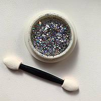 Новинка!Втирка для дизайна ногтей Diamond-1 цвет