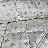 Ковдра на холлофайбері ОДА Євро розміру 200х220 Стьобана зимова ковдра високої якості, фото 3