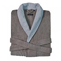 Махровый халат с льняным бордюром CASUAL AVENUE  HAMPTON  р.S/M