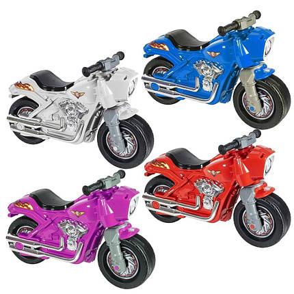 Мотоцикл каталка толокар для детей от года Детский байк беговел для мальчиков и девочек Велобег Orion 504, фото 2