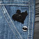"""Значок, брошка-значок, пін з металу на одяг, металевий значок """"Приворотне зілля. Гаррі Поттер"""", фото 3"""