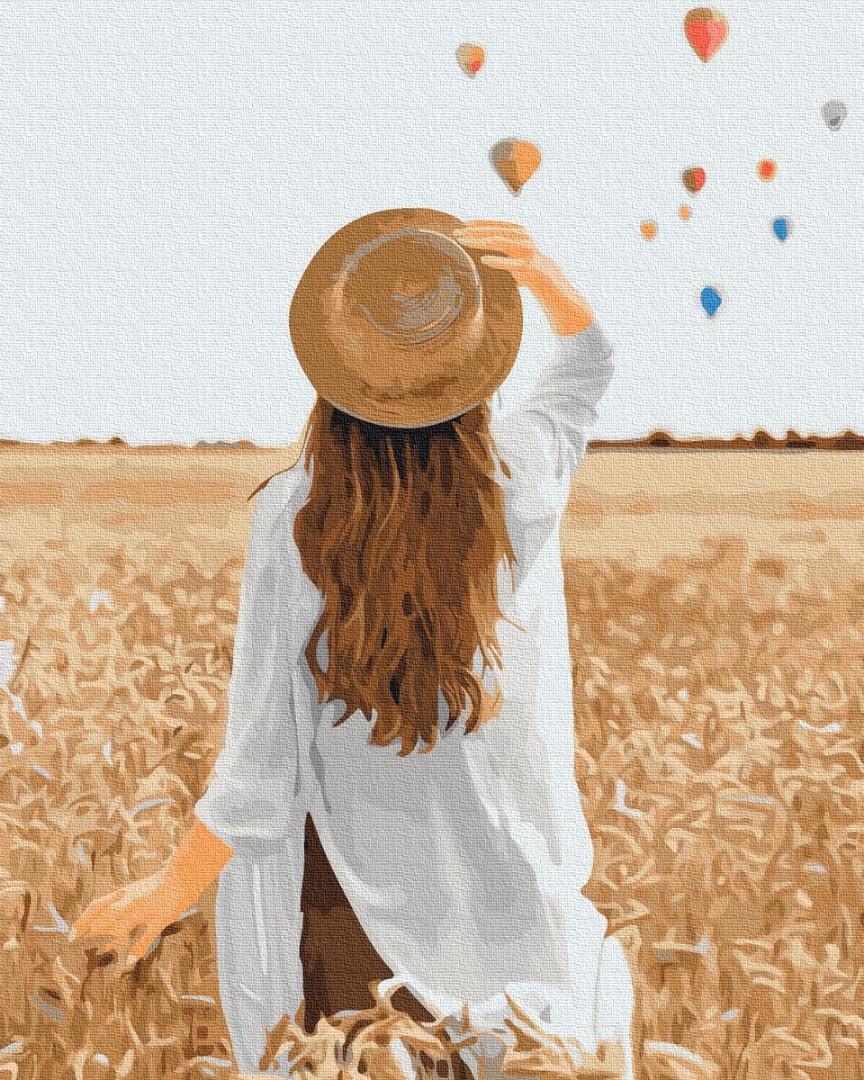 Путешественница в ржаном поле