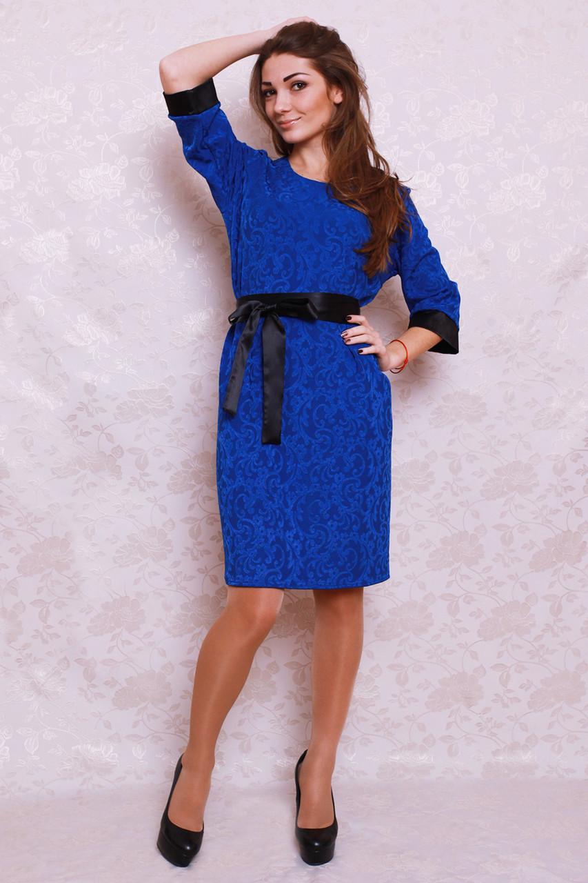 Нарядное женское платье полубатальных размеров 50, 52, 54 - Оптово-розничный  интернет- 26bc911ddc0