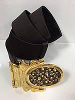 Ремень женский BALIZZA  атласный шоколадный, фото 1