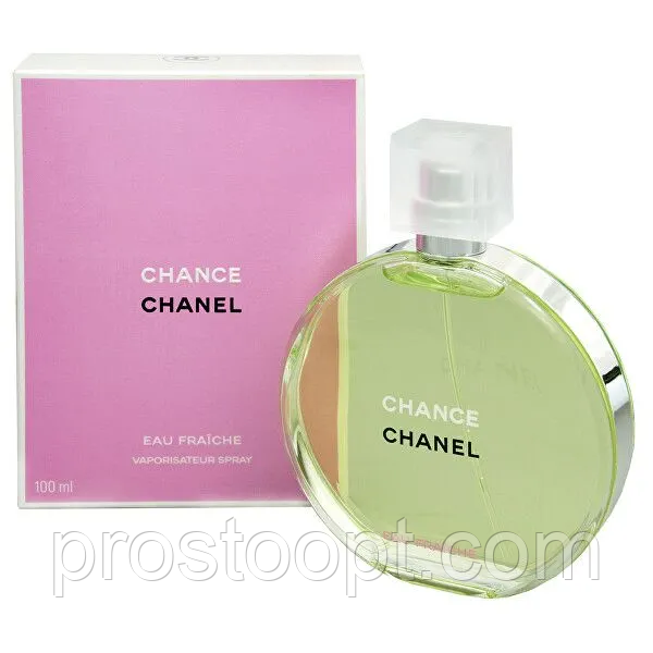 Жіноча туалетна вода Chanel Chance Eau Fraiche 100 мл (Euro A-Plus)