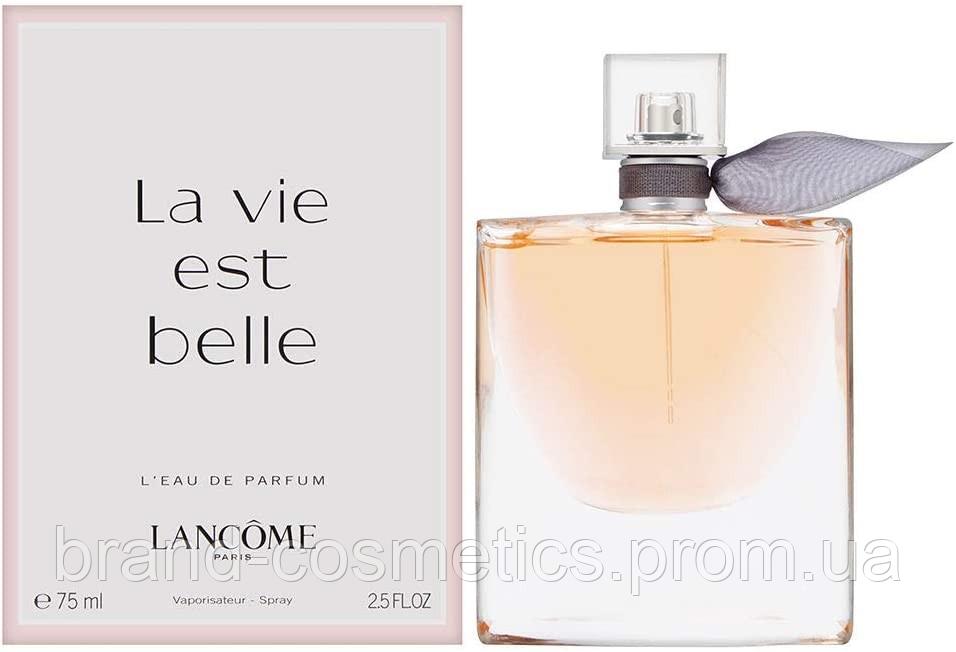 Женская парфюмированная вода Lаncome La Vie Est Belle 75 мл (Euro A-Plus)