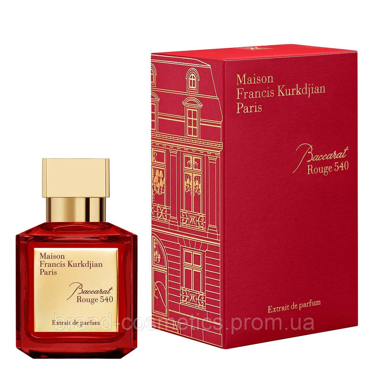Парфюмированная вода Maison Francis Kurkdjian Baccarat Rouge 540 Extrait De Parfum 70 мл унисекс (Euro A-Plus)