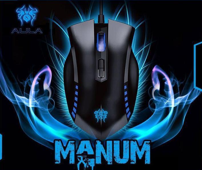 Мышь компьютерная проводная игровая MANUM, USB  *1134