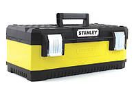 Ящик 195612 Stanley 497 x 293 x 222 мм профессиональный металлопластмассовый, фото 1
