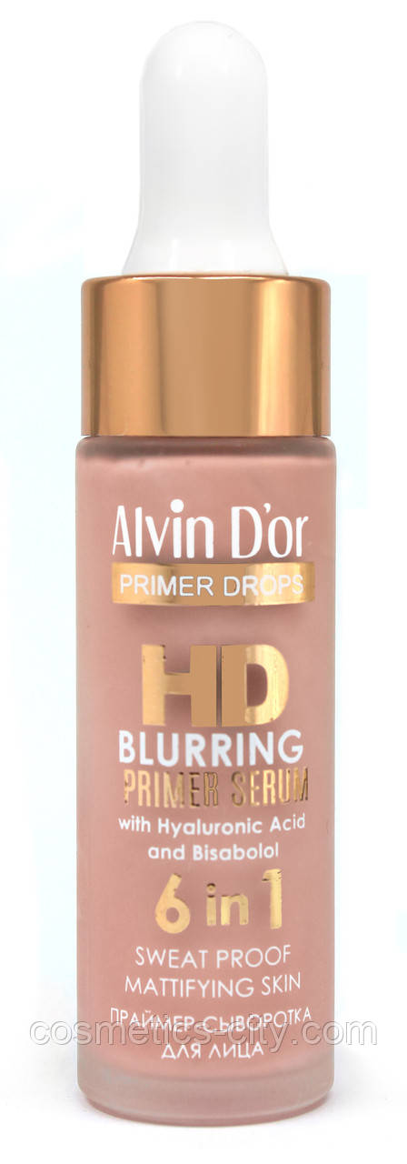 Праймер-сыворотка для лица Alvin d'or Hd Blurring serum 6 in 1 SP-05