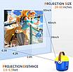 Проектор портативный детский Minion с WiFI подключением к iOS и Android  желто-синий, фото 2