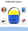 Проектор портативный детский Minion с WiFI подключением к iOS и Android  желто-синий, фото 3