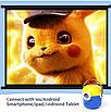 Проектор портативный детский Minion с WiFI подключением к iOS и Android  желто-синий, фото 5