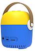 Проектор портативный детский Minion с WiFI подключением к iOS и Android  желто-синий, фото 9