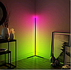 Угловой LED торшер Ledox Design с пультом, регулируемой яркостью 20 Вт Черный, фото 2