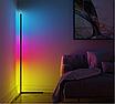 Угловой LED торшер Ledox Design с пультом, регулируемой яркостью 20 Вт Черный, фото 3