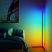 Угловой LED торшер Ledox Design с пультом, регулируемой яркостью 20 Вт Черный, фото 4