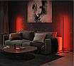 Угловой LED торшер Ledox Design с пультом, регулируемой яркостью 20 Вт Черный, фото 6