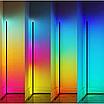 Угловой LED торшер Ledox Design с пультом, регулируемой яркостью 20 Вт Черный, фото 10