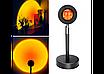 Проекционный светильник Sunset Lamp заката, рассвета  USB led Lamp  свет радужный с поворотом на 180 градусов, фото 6