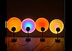 Проекционный светильник Sunset Lamp заката, рассвета  USB led Lamp  свет радужный с поворотом на 180 градусов, фото 7