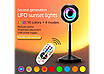 Проекционный светильник Sunset Lamp заката, рассвета  USB led Lamp  свет радужный с поворотом на 180 градусов, фото 8