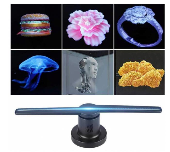 Голографический 3D проектор Hologram FAN Z1 7631, WI-FI