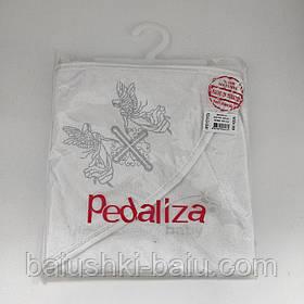 Крыжма (полотенце) махровая для крещения новорожденного с уголком, Турция