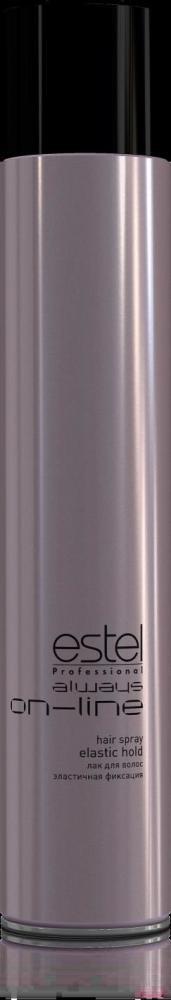 Эстель Лак для волос эластичная фиксация Estel Always On-Line