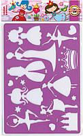 Трафарет K-i-N 9820 Принцессы