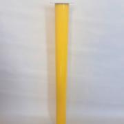 Ніжка,Опора,Стійка для столу кольорова 60/710 Жовта, фото 1