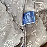 Ковдра на холлофайбері ОДА Двуспального розміру 175х210 Стьобана зимова ковдра високої якості, фото 3