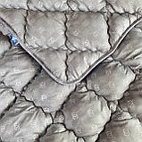 Ковдра на холлофайбері ОДА Двуспального розміру 175х210 Стьобана зимова ковдра високої якості, фото 10