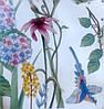 """Вінілові наклейки в салон краси на стіну, вікна, шафи, вітрини """"польові квіти"""" 56*99см (лист 60*90см), фото 2"""