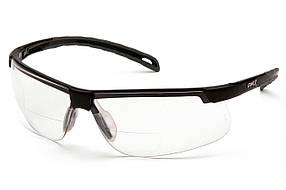 Біфокальні захисні окуляри Pyramex EVER-LITE Bif (+3.0) (clear) прозорі