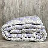 Одеяло на холлофайбере ОДА двуспального размера 175х210 Стеганное зимнее одеяло высокого качества, фото 4