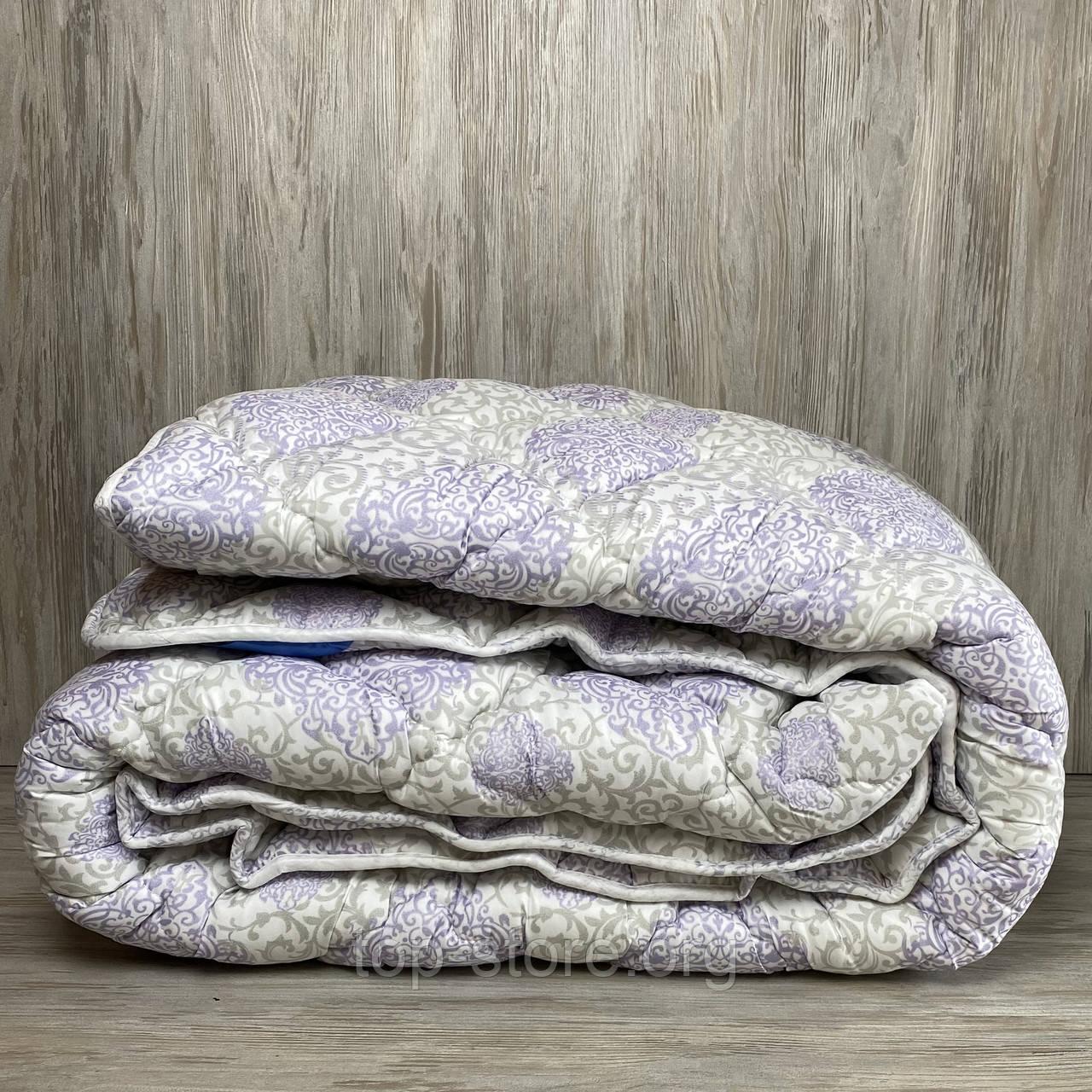 Одеяло на холлофайбере ОДА двуспального размера 175х210 Стеганное зимнее одеяло высокого качества