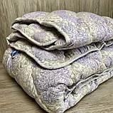 Одеяло на холлофайбере ОДА двуспального размера 175х210 Стеганное зимнее одеяло высокого качества, фото 10