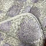 Одеяло на холлофайбере ОДА двуспального размера 175х210 Стеганное зимнее одеяло высокого качества, фото 7