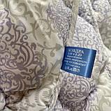 Одеяло на холлофайбере ОДА двуспального размера 175х210 Стеганное зимнее одеяло высокого качества, фото 6