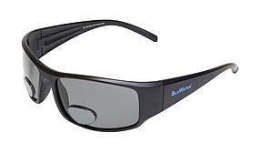 Біфокальні поляризаційні окуляри BluWater BIFOCAL-1 (+3.0) Polarized (gray) сірі