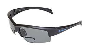 Біфокальні поляризаційні окуляри BluWater BIFOCAL-2 (+2.0) Polarized (gray) сірі