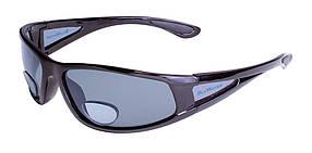 Біфокальні поляризаційні окуляри BluWater BIFOCAL-3 (+2.0) Polarized (gray) сірі