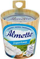 Творожный сливочный сыр Almette Jogurtowy Hochland (сыр Альметте), 150 г.