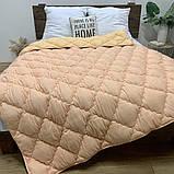 Одеяло на холлофайбере ОДА полуторного размера 155х210 Стеганное зимнее одеяло высокого качества, фото 2