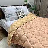 Ковдра на холлофайбері ОДА півторашнього розміру 155х210 Стьобана зимова ковдра високої якості, фото 3