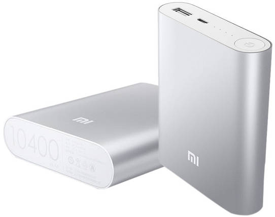Power Bank MI 10400mAh портативное зарядное устройство, фото 2