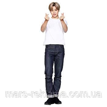 Ростова фігура Пак Чімін група BTS Bangtan Boys. Ростова фігура з будь-яким зображенням під замовлення
